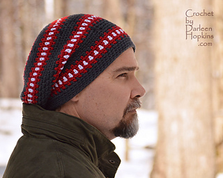 1bc15eac9e9e Ravelry: Cubed Hat - Super Slouchy for Men, Teens and Ladies too! pattern  by Darleen Hopkins