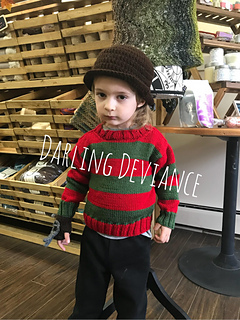 Ravelry Freddy Krueger Inspired Outfit Pattern By Darling Deviance