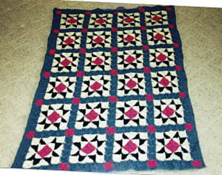 Ravelry Evening Star Afghan Pattern By Donna Collinsworth