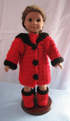 Ravelry Winter Coat Amp Boots For American Girl Dolls