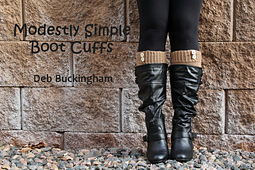 Modestly Simple Boot Cuffs PDF