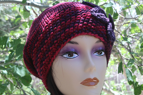 Blooming Flower Slouch Hat PDF