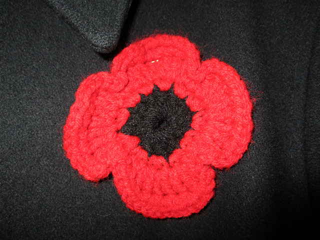 Ravelry Rememberance Poppy Crochet Project Pattern By Emma Leith