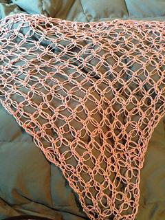 Ravelry Solomons Knot Shawl Liebesknoten Dreieckstuch Pattern By