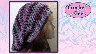 Ravelry  Bob Marley Crochet Slouch Cap pattern by Teresa Richardson 8cf05828442