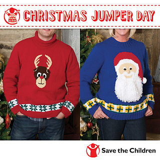 The Easiest Free Knitting Patterns For Children S Christmas Sweaters