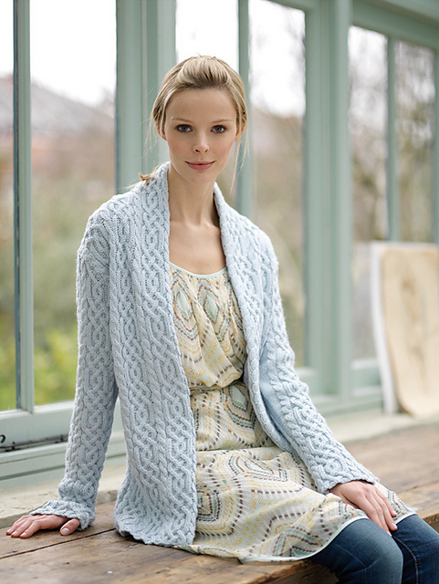 Ravelry Cabled Jacket Pattern By Debbie Bliss