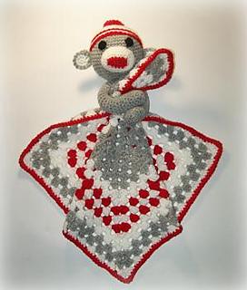 Ravelry Sock Monkey Lovey Crochet Pattern Pattern By Shalene Mckay