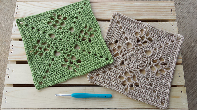 Ravelry Victorian Lattice Square Pattern By Destany Wymore