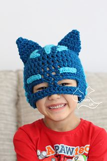 patterns   Dove Crafts UK s Ravelry Store.   Catboy Mask Hat ... 1b95ac6b6c0
