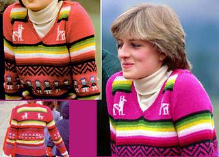 Ravelry Princess Diana S Peruvian Sweater Pattern By