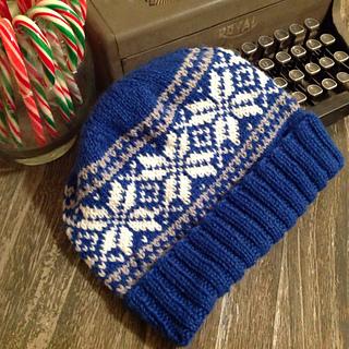 Ravelry  Basic Norwegian Star Hat pattern by Cara Jo Knapp e71f8df700b
