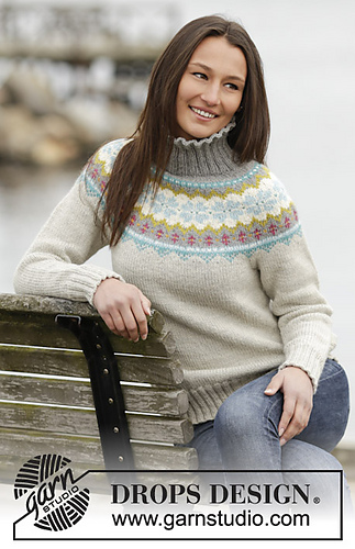 ravelry 1665 october dream pattern by drops design