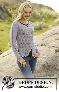 e5b023ee7eab Ravelry  172-12 Erendis Cardigan pattern by DROPS design