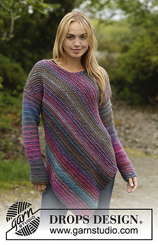 Ravelry 172 26 Sideways Glance Pattern By Drops Design