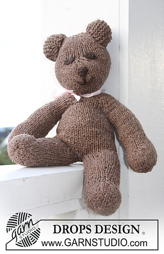 Free Knitting Pattern For Mr Bean s Teddy Bear : Ravelry: b11-28 Mister Bean, the Teddy pattern by DROPS design