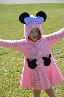Minnie Mouse Sweater Dress Pattern By Dual Designs Boutique Ravelry