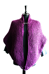 Knitting_pattern_shawl_cape_chunky_knit_x_2_sizes_small_best_fit