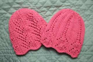 Ravelry  Two Lace Baby Hats pattern by Heather Tucker d49aa2b2f91