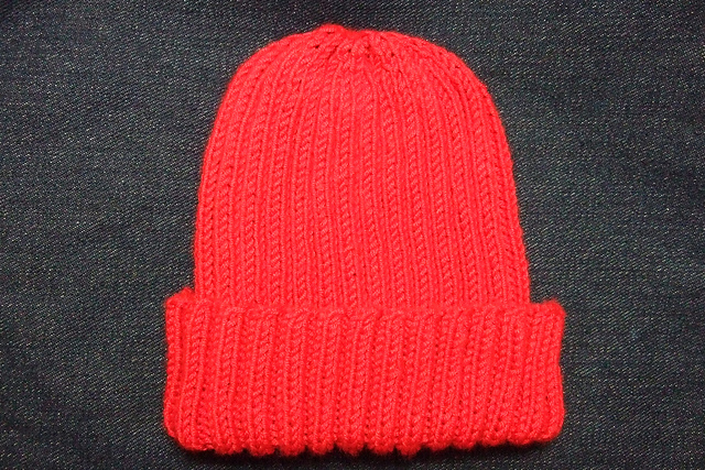 26847426b964 Ravelry  Basic Ribbed Baby Child Hat pattern by Heather Tucker
