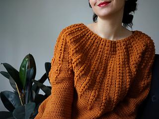Ravelry Goldenrod Sweater Pattern By Linda Skuja