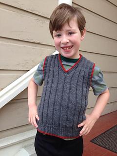 f73440f72 Ravelry  Boy s Sleeveless Sweater pattern by Hilde Fuchs