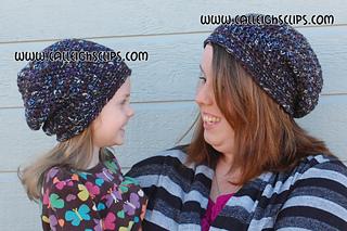 af2b2672ce9 Ravelry  Sunset Slouchy Hat pattern by Elisabeth Spivey