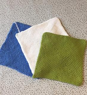 ravelry origami washcloth pattern by elizabeth vindedahl