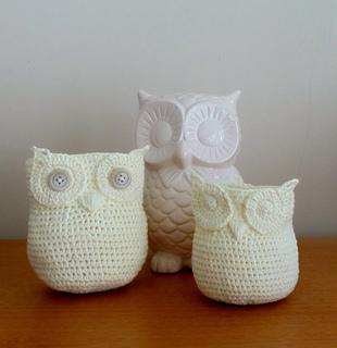 Free Crochet Pattern Owl Basket : Ravelry: Owl Basket (Crochet) pattern by Deja Joy