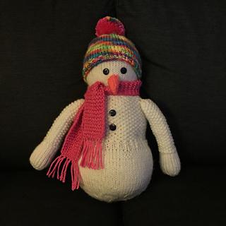 Knitted Snowman Pattern Free : Ravelry: Knitting Snowman pattern by Nancy Anderson