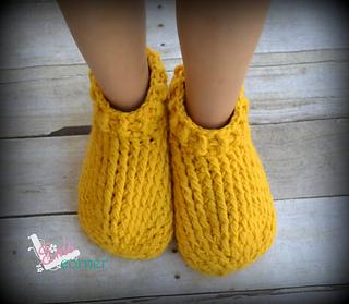 Ravelry Adult Chunky Slippers Pattern By Crochet By Jennifer