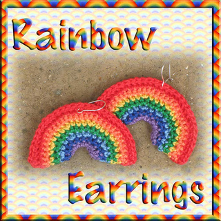 4e6c6bb90 Ravelry: Rainbow Earrings pattern by Helen Free