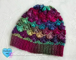 Ravelry  Shell N Picots Slouch Hat pattern by Erangi Udeshika 6b66964ad49