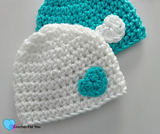 Ravelry Little Heart Preemie Hat Pattern By Erangi Udeshika