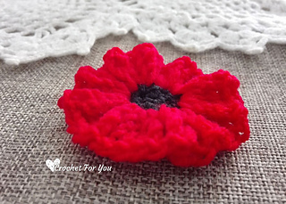 Ravelry Poppy Flower Pattern By Erangi Udeshika