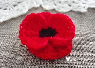 Ravelry poppy flower pattern by erangi udeshika erangi udeshika mightylinksfo