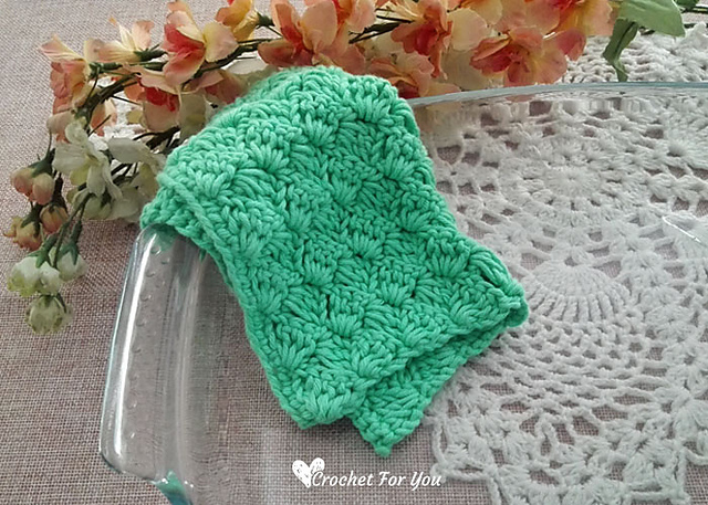 Ravelry Tulip Stitch Dishcloth Pattern By Erangi Udeshika