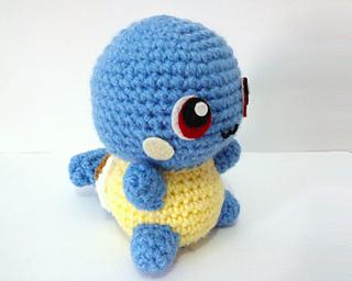 Erin Amigurumi Pokemon : Ravelry: Squirtle Pokemon Amigurumi pattern by Erin Huynh