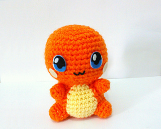 Amigurumi Pokemon Instructions : Ravelry: Charmander Pokemon Amigurumi pattern by Erin Huynh