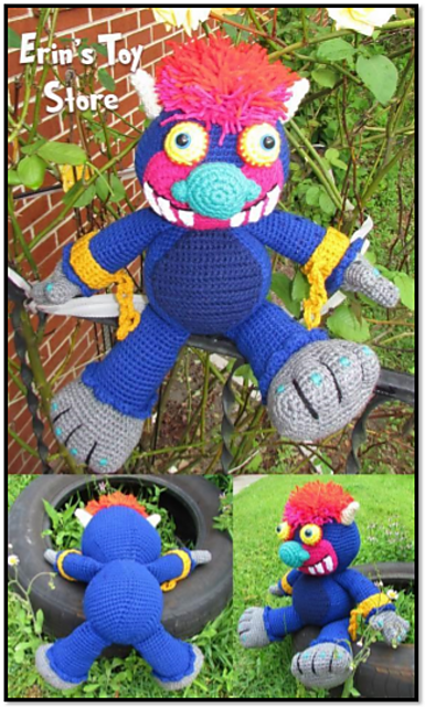 Ravelry My Pet Monster Pattern By Erin Scull