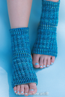 Ravelry: Asana Yoga Socks pattern by Chandi Agee