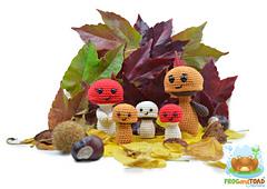 Famille_champignon_mushroom_family_portrait_-_frogandtoad_creations_small