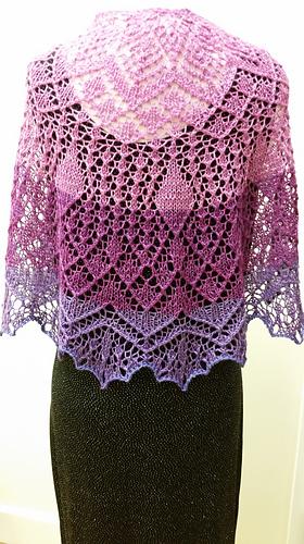Ravelry Stargazing Mkal Lace Shawl Pattern By Anna Victoria