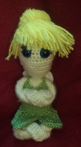 Ravelry Tinkerbell Dress Up Doll Pattern By Family Bugs