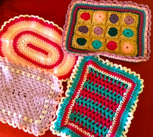 Ravelry Crochet A Doll Blanket Pattern By Family Bugs