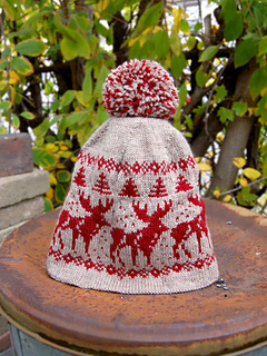 Ravelry  Home Alone Holiday Hat pattern by Renelle M. Legos e17ea8ce24f