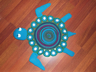 Ravelry Sea Turtle Rug Pattern By Sonea Delvon