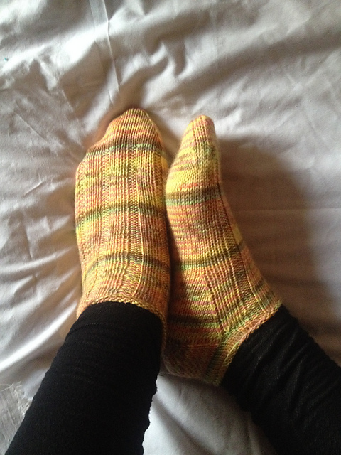 Ravelry Vanilla Latte Ankle Socks Pattern By Fatma Seif