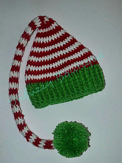 6aac6a396 Ravelry: Santa's Little Elf Hat pattern by Stacey Williams