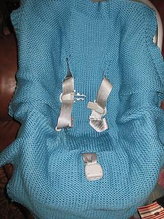Ravelry Wrap Around Car Seat Blanket Pattern By Lara Muse